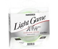 0,05 шнур TEAM SALMO LIGHT GAME X4 ULTRA PE 100 м