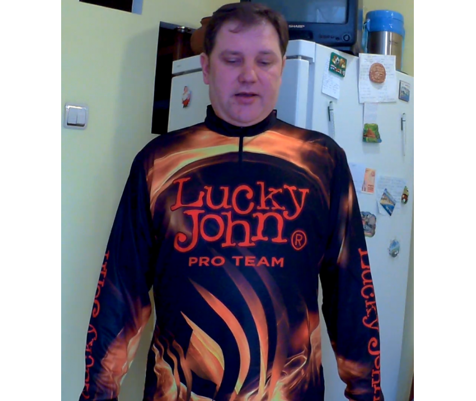 футболка lucky john pro team