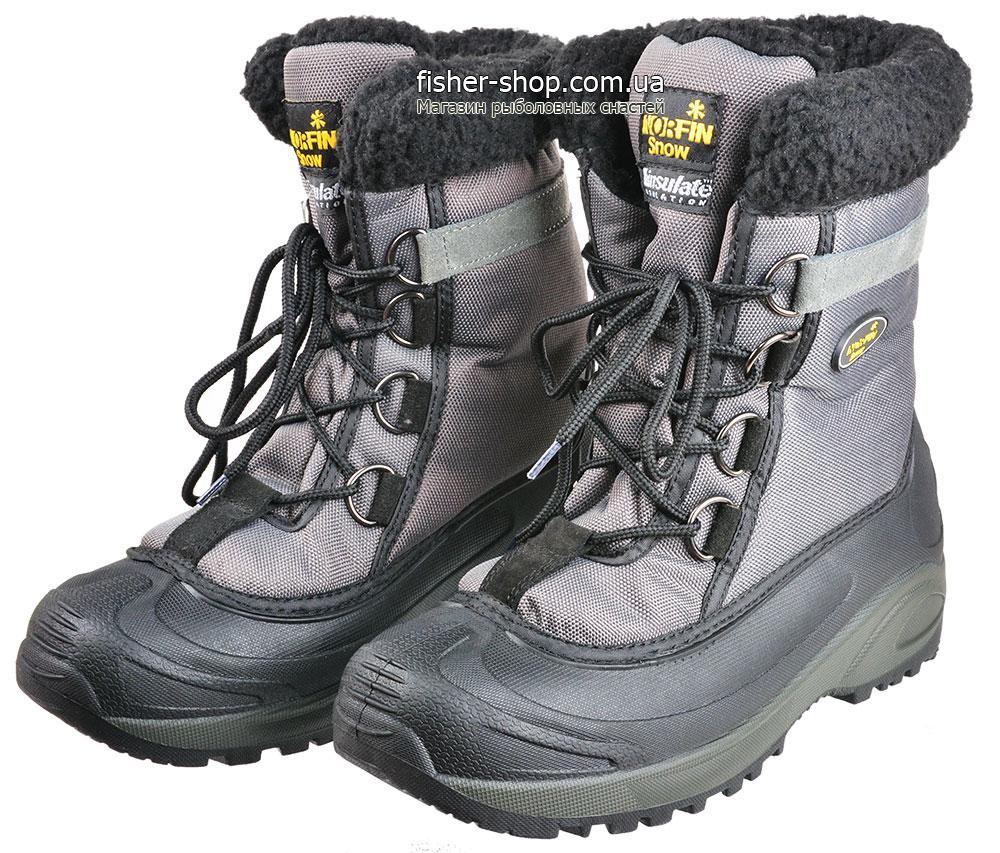 ... Ботинки зимние Norfin Snow Gray (13980-GY) фото 2 ... 6e9fde348acf7