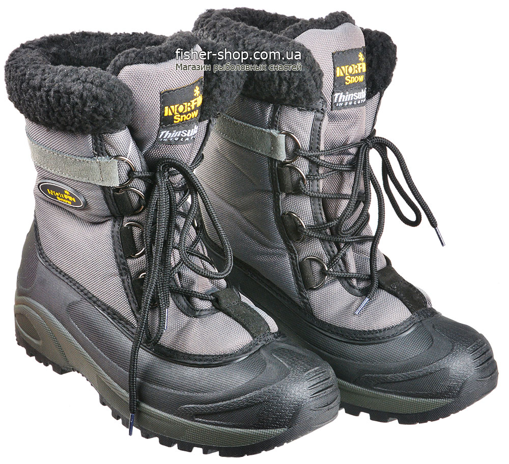 ... Ботинки зимние Norfin Snow Gray (13980-GY) фото 3 ... 946f9db1164bc