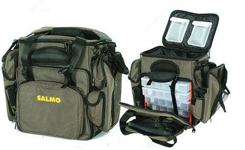 8901d9b141d3 Сумка рыболовная с коробками (5 шт.) Salmo (H-3520) купить